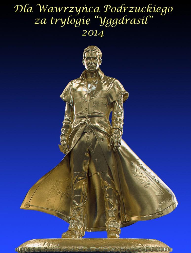 Złoty Torkil dla Wawrzyńca Podrzuckiego za trylogię Yggdrasil