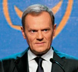 Pan Donald Tusk, w którego wstąpił Zły
